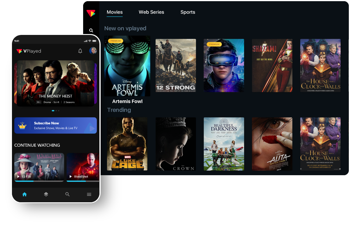 Movie Streaming Solution
